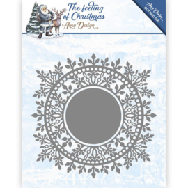 Amy Design - ADD10110 - The feeling of Christmas - Ice crystal circle
