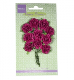 Marianne Design Paper Flowers Carnations - medium pink RB2259