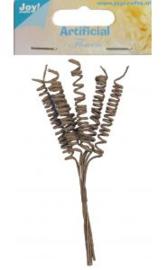 Joy!Crafts 6370/0075 Artificial-Flowers-Spiraal-naturel