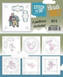 COSTDO10006  Stitch & Do - Cards only - Set 6