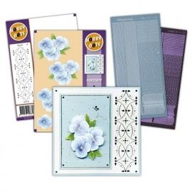 Hobbydots pakketje SET001-03 - Violet - Ice