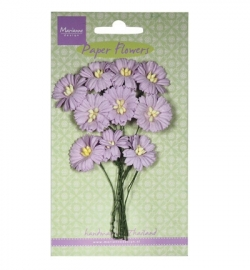 Marianne Design Paper Flowers Daisies - light lavender RB2254