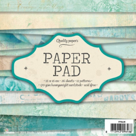 Studio Light Paper pad 36 vel 12 designs nr 36 PPSL36 15x15cm