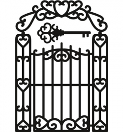 Marianne Design CR1304 Garden Gate