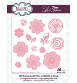 Creative Expressions - CEDLH1013 - Stitched Collection Stitched Blooms