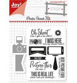 6004/0029 - Scrap Snijstencils & Stempels - Photo Shoot Kit