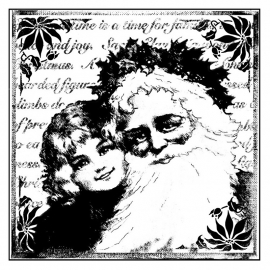 Crafty Individuals CI-136 Christmas Santa Smiles