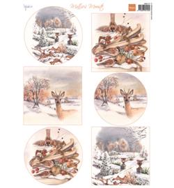 Marianne Design MB0177 - Mattie's mooiste: Winter 1