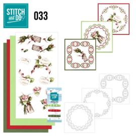 STDO033 Stitch and Do 33 - Roses