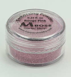 Mboss Embossing powder Rouge Pink 390101
