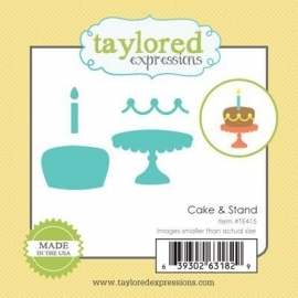 Taylored Expressions Cake & Stand (TE415)
