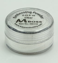 Mboss Embossing powder Clear 390116