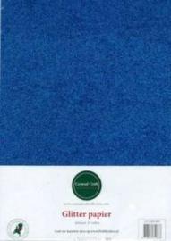 Glitterpapier dun blauw CCC-280-009