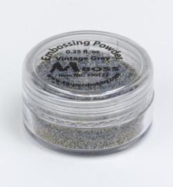 Mboss Embossing powder Vintage Grey