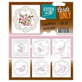 COSTDO10014  Stitch & Do - Cards only - Set 14