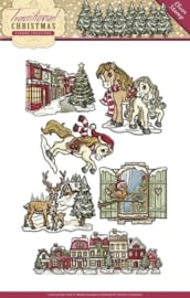 Yvonne Creations - YCCS10021 Clearstamp - Traditional Christmas