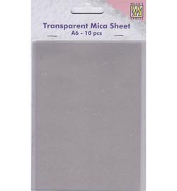 Nellie Snellen MICA001 - Transparent mica sheets