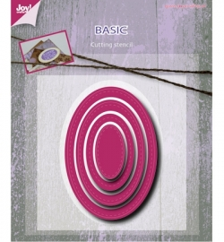 6002/0490 Cutting & Embossing - Basic Mery oval