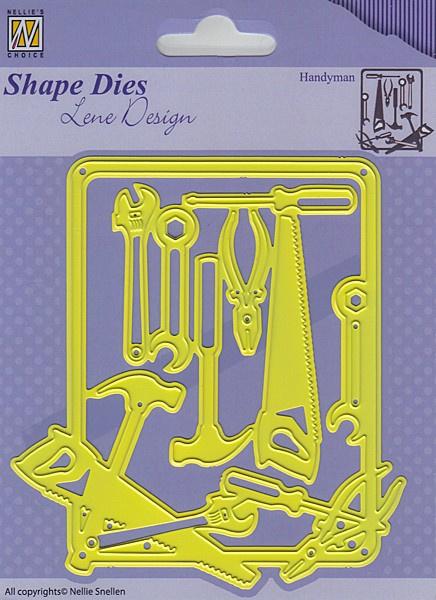 Nellie Snellen - Nellie's Choice -  SDL040 Shape Dies Lene Design men thing