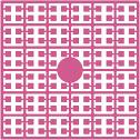 pixelmatje 220 - cranberryroze middel