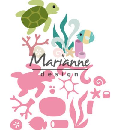 Marianne Design COL1468 - Sealife by Marleen