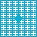 pixelmatje 198 - turquoise
