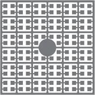 pixelmatje 172 - granietgrijs