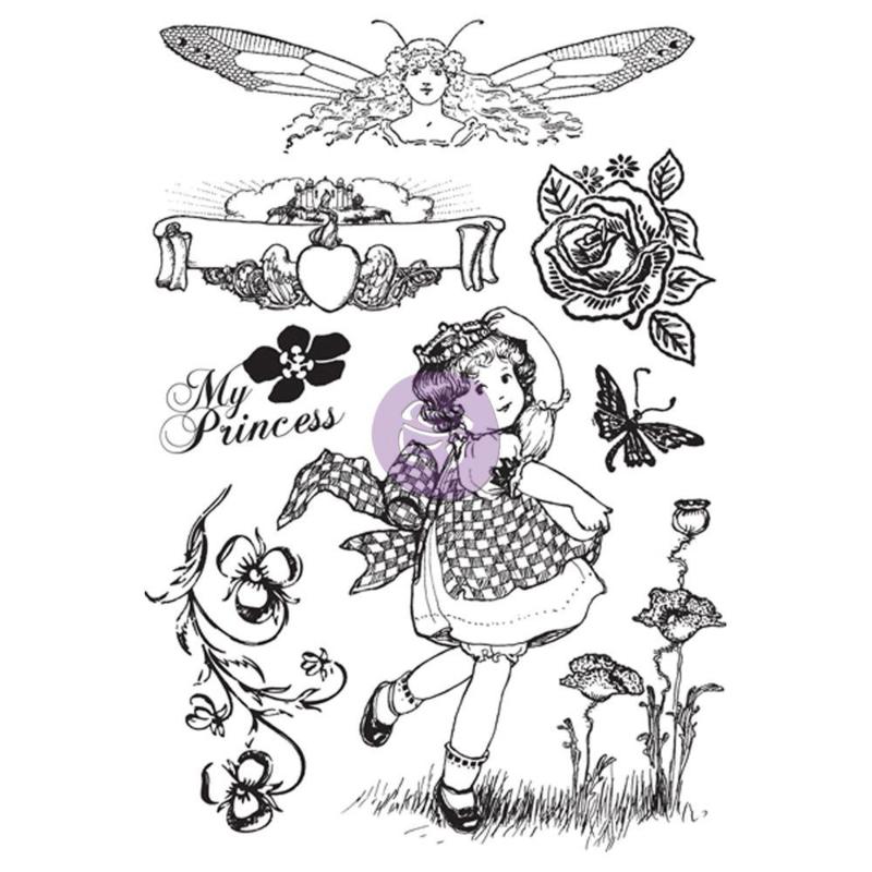 Prima Marketing Princess Cling Stamp Set - My Princess 951078