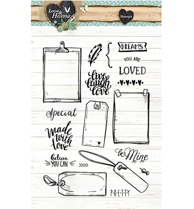 Studio Light - Love & Home STAMPLH126