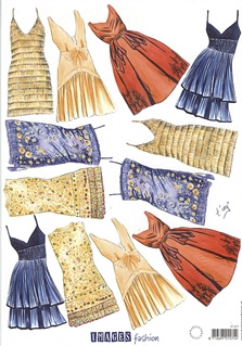 Marianne Design IT471 Jurken