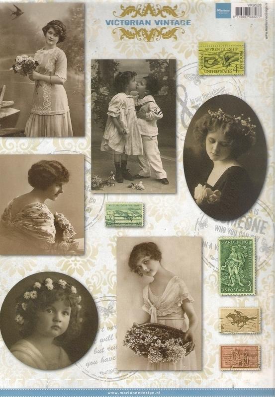 Marianne Design Vintage VK9528