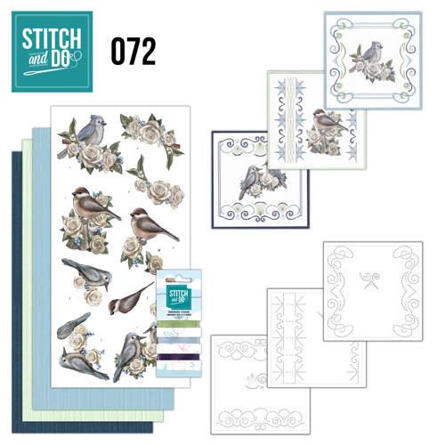 STDO072 - Stitch and Do 72 - Vintage Winter