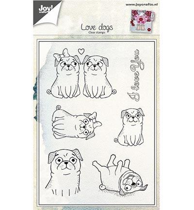 6410/0442 Liefdes honden