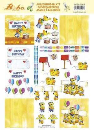 Bobo 0038.08 happy birthday
