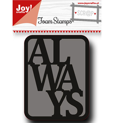 6410/0454 Foam Stamps Always