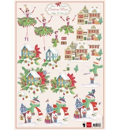 Marianne Design Christmas Wishes 2 EWK1206