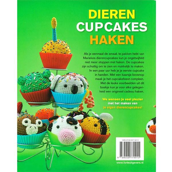 Dieren cupcakes haken