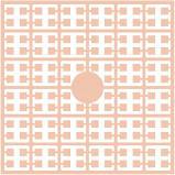 pixelmatje 376 - abrikoos licht
