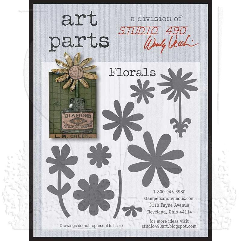 Studio 490 Wendy Vecchi Art Parts: Florals