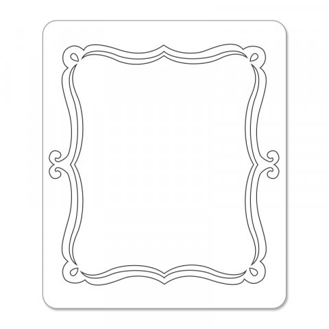 Sizzix Sizzlits Die - Card, Bracket Insert 657993