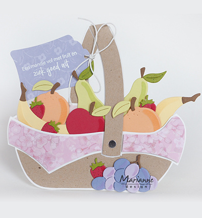 Marianne Design COL1469 - Fruit by Marleen
