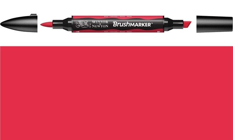 W&N Brushmarker R666 - 209 red