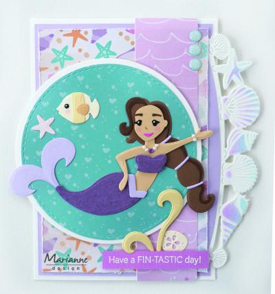 Marianne Design COL1467 - Mermaids by Marleen