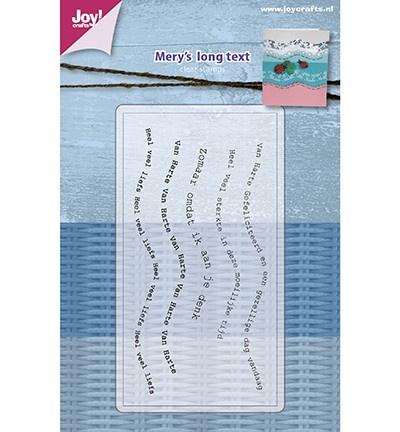 6410/0477 Mery's lange golf tekst