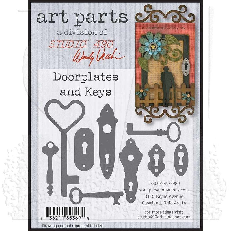 Studio 490 Wendy Vecchi Art Parts: Doorplates and Keys