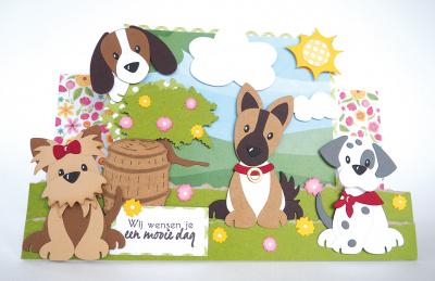 Marianne Design COL1464 - Eline's puppy