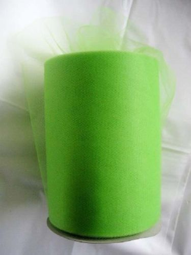 Tule 15 cm breed appel groen