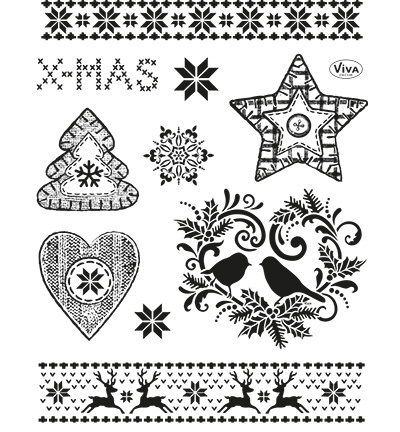 4003.146.00 clearstamps xmas