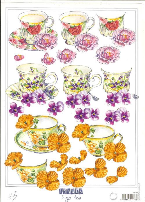 Marianne Design IT456 High Tea