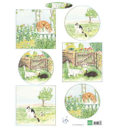 Marianne Design - IT609 - Tiny's cats